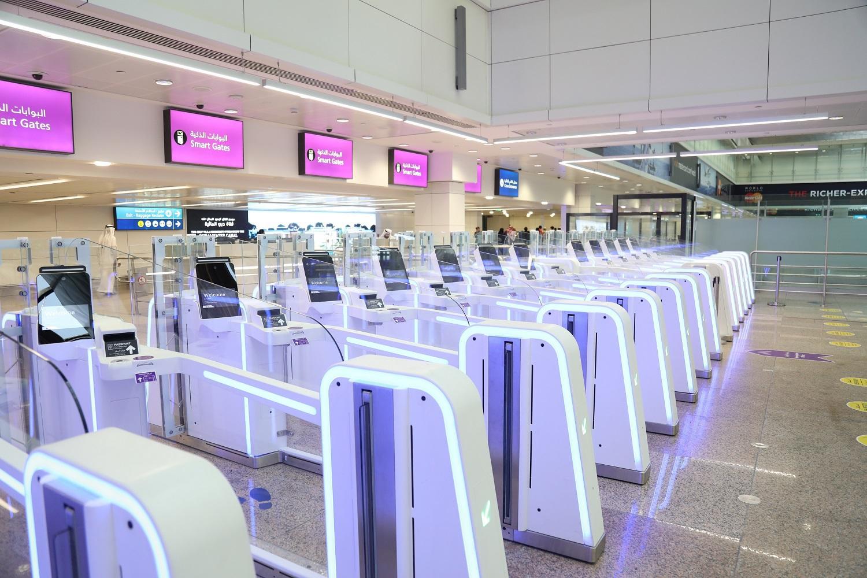Smart Gates at Dubai International Airport